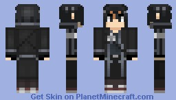 Kirito from Sword Art Online Minecraft Skin