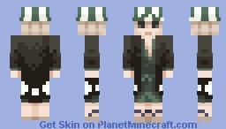 ◻️⬛ Kisuke Urahara ⬛◻️ || Bleach Minecraft Skin