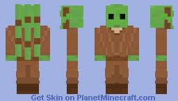 Kit Fisto (Star Wars: Attack of the Clones) Minecraft Skin