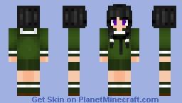 [ Kantai Collection ] - IJN Kitakami Minecraft Skin