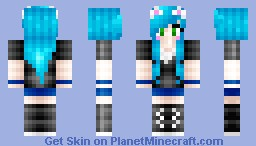 Remake of the first skin I ever uploaded on pmc o; Minecraft Skin
