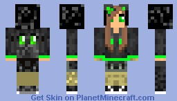 Kiwi Kitty Minecraft Skin