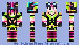 CyberPunk StYl3 GirL KiO... (Contest) Minecraft Skin