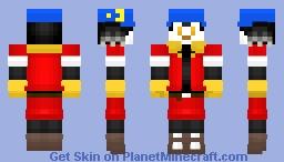 Klonoa (Wii) Minecraft Skin