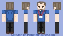 depressed K-mart employee...? Minecraft Skin