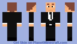 K from men in black Minecraft Skin