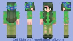 Humanoid Koa // OC Minecraft Skin