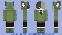 Cute school boy ^o^ Minecraft Skin