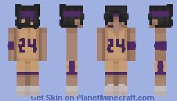 rip kobe Minecraft Skin