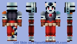 Byakko no Kogenta Minecraft Skin