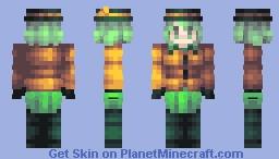 the... what? no one's here? - koishi komeiji, touhou Minecraft Skin