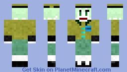 "Koishi Komeiji as seen in ""koishi's heart throbbing adventure"" Minecraft Skin"