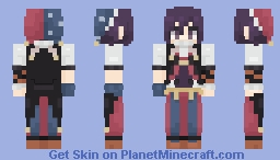 Kokichi Ouma || DRV3 [Halloween] Minecraft Skin
