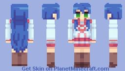 Konata Izumi - Lucky☆Star (Alt. in Desc.) Minecraft Skin