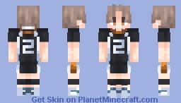 Koshi Sugawara [From Haikyu!!] Minecraft Skin