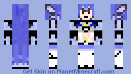 Kos-Mos episode 3 outfit from xenosaga .. Hd version now available (Video game contest)) Minecraft Skin