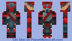 Krimzon Guard from Jak and Daxter (requested) Minecraft Skin