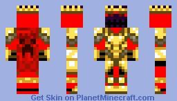 King Minecraft Skin