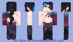 Kayn - The Shadow Reaper Minecraft Skin