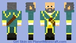 Kunkka Minecraft Skin