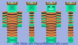Kupfer König (Copper King) Minecraft Skin