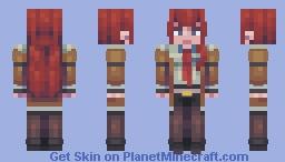 K U R I S U T I N A Minecraft Skin