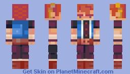 Kuro from Evoland II Minecraft Skin