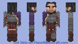 (𝕄𝕪𝕜𝕖𝕚) [LoTC] Kurtus Cobaenus in armor Minecraft Skin