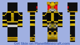 Kuuga Amazing Mighty Minecraft Skin