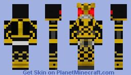 Kamen RIder Kuuga Ultimate Minecraft Skin