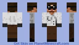 Lab Technician Minecraft Skin