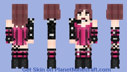 Lady Gaga - Rain On Me (part 1) Minecraft Skin