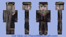 Lady Maria of the Astral Clocktower // Battle Of Our Boss Skins Minecraft Skin
