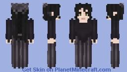 Lady vignette Minecraft Skin