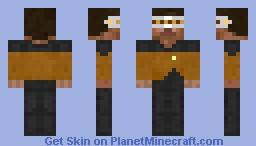 Space Engineer Minecraft Skin