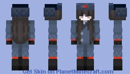 Workers Unite - Blue Comrade Minecraft Skin