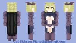 Request ~ Lancer Artoria Alter ⚔ Minecraft Skin