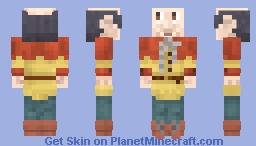 Langnek from De Efteling Minecraft Skin