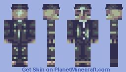 Skin Noir - [Lantosyts #2 Challenge] Minecraft Skin