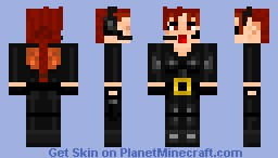 Lara Croft (catsuit without glasses) Minecraft Skin