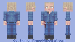 Laura | The Walking Dead | Stalker Minecraft Skin