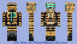 Issac Clarke Enginering Suit DS2 Minecraft Skin
