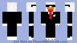 Agent Chiken Minecraft Skin