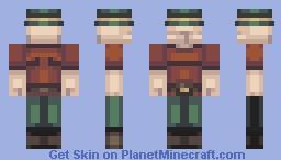 Le Fedora Minecraft Skin