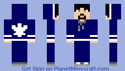 Leafs Fan- black hair- male Minecraft Skin