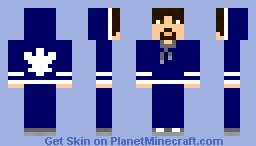 Leafs Fan-brown hair-male Minecraft Skin