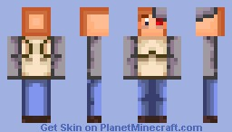 8-bit League of Evil - Dedication Skin Minecraft Skin