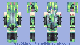 「How many sounds do I have to string together before I can meet you again?」 Minecraft Skin