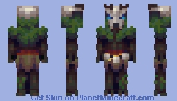 In the Heart of the Woods // Battle Of Our Boss Skins Minecraft Skin