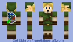 diamond link Minecraft Skin